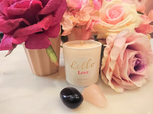 Loa Love Crystal Candle