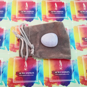 Throat Chakra Reiki Crystal Candle 20cl