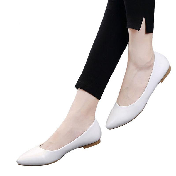 Simple Classic Pointed Toe Flats - Both