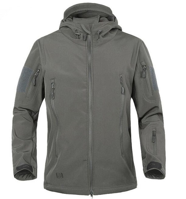 Unisex Fleece Ski Jacket-Waterproof ski coat windbreaker tactical clothing-ski-season