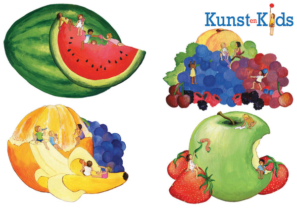 Muurstickers Fruit