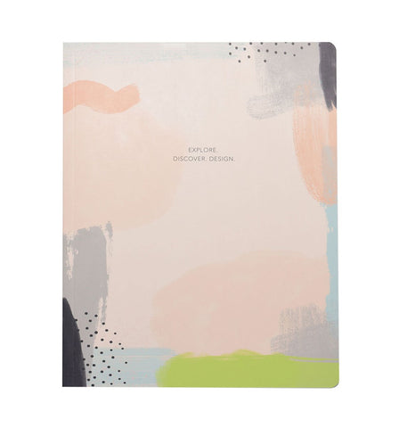 Inspire big ideas by writing them down on this notebook.