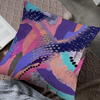 Abstract Dusk Throw Pillow by The Visual Affair
