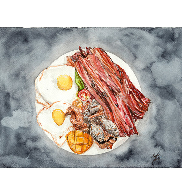 Bacon Acrylic Tray by Spatialchild