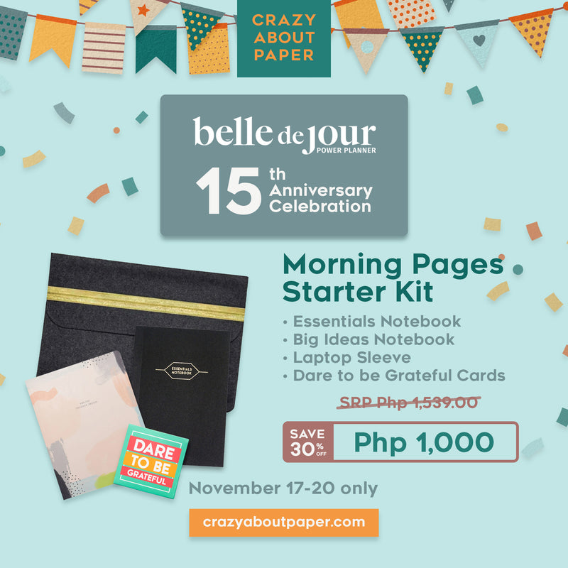 Morning Pages Starter Kit