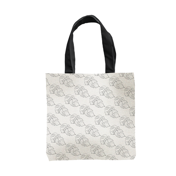 Monstera Tote Bag by Clems on Paper