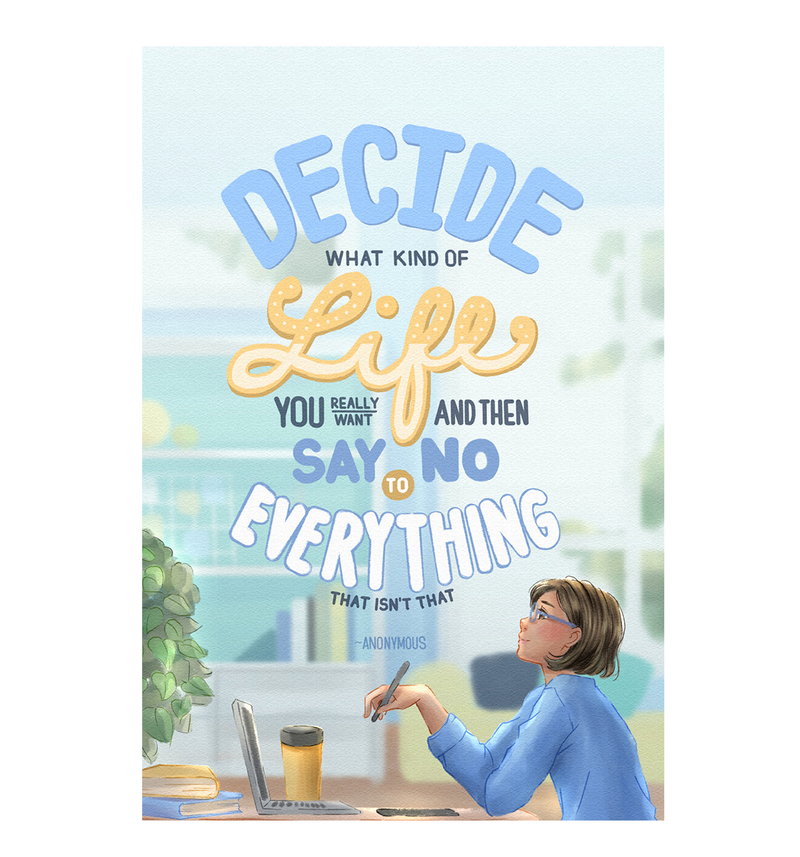 Decide Greeting Cards by Lewe Obispo