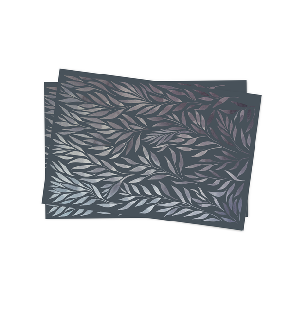 Shade of Gray Placemat by MYC Alamban