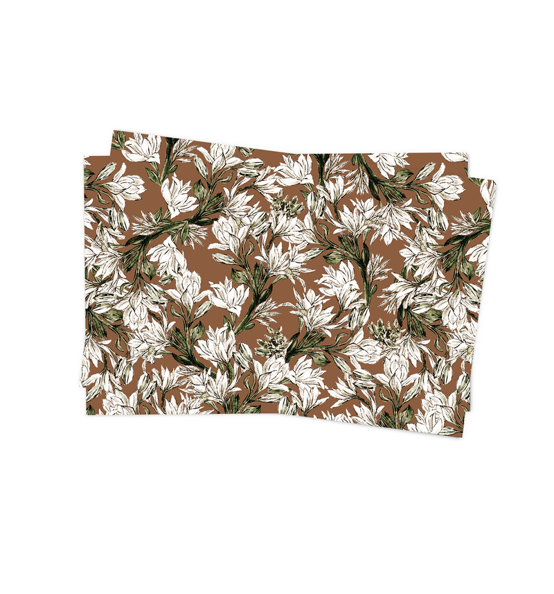Tuberose Placemat by Life After Breakfast