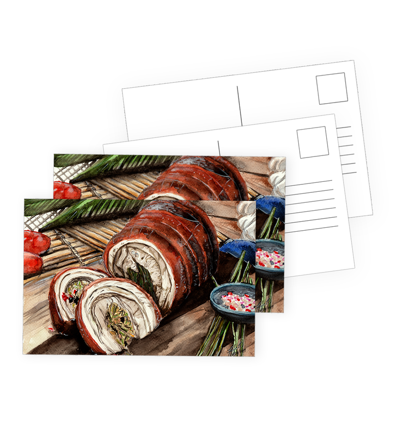 Lechon Postcards by Spatialchild