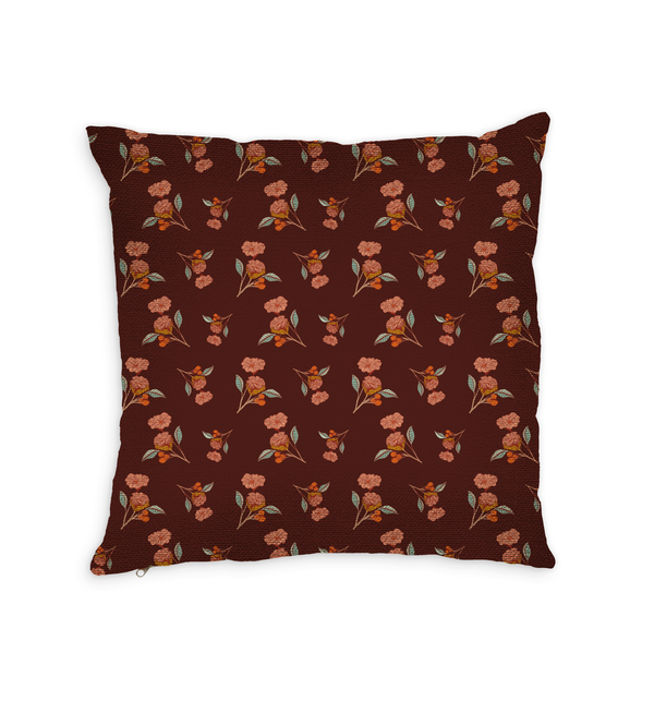 Dear Ruby Throw Pillow by Maria Cielo
