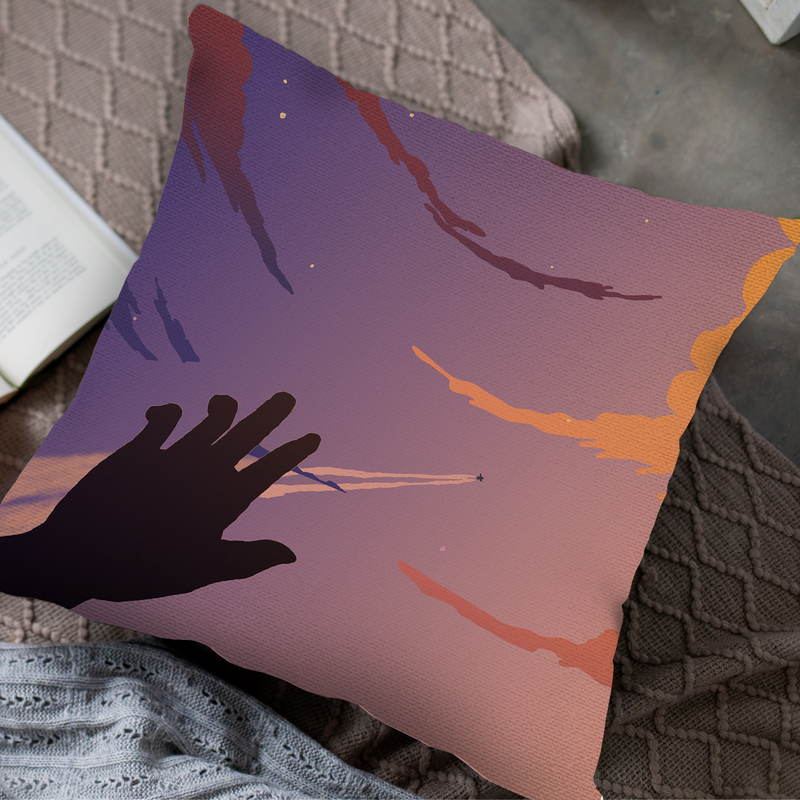 Dusk Throw Pillow by MYC Alamban