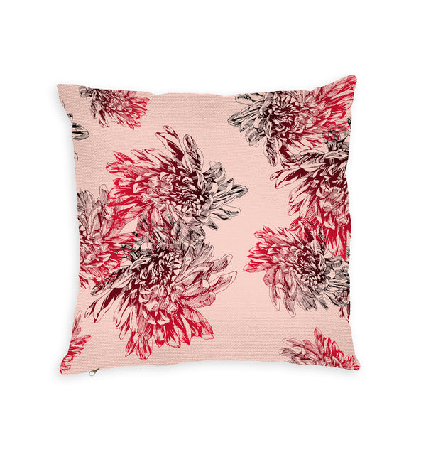 Floral Punk Throw Pillow by MYC Alamban