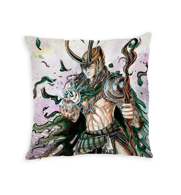 Mangangaway Throw Pillow by Spatialchild
