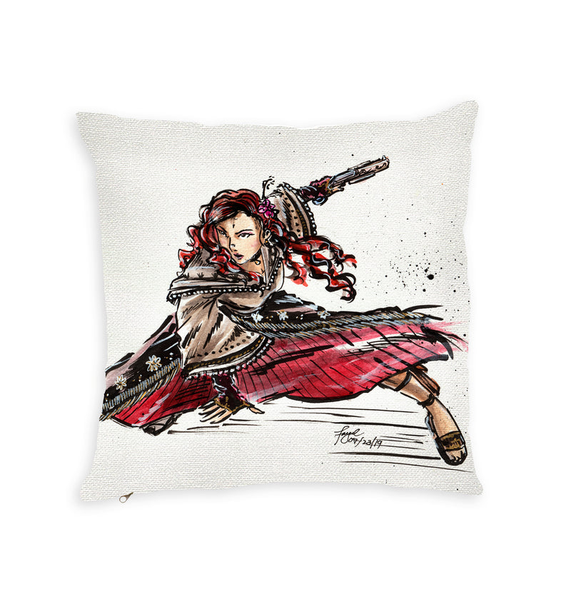 Tiktik Macabebe Throw Pillow by Spatialchild