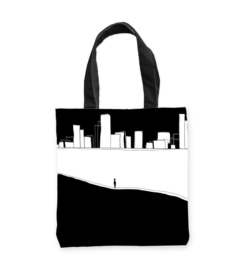 Quarantine City Tote Bag by Clems on Paper