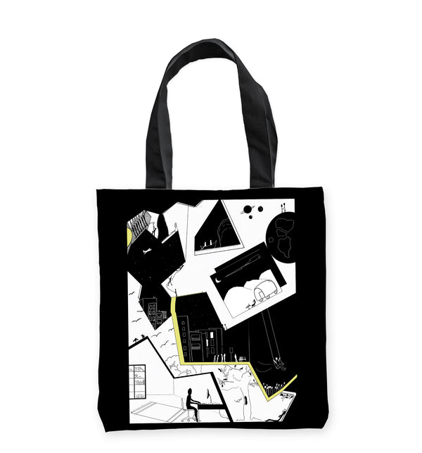 QuarantineHP Tote Bag by Clems on Paper