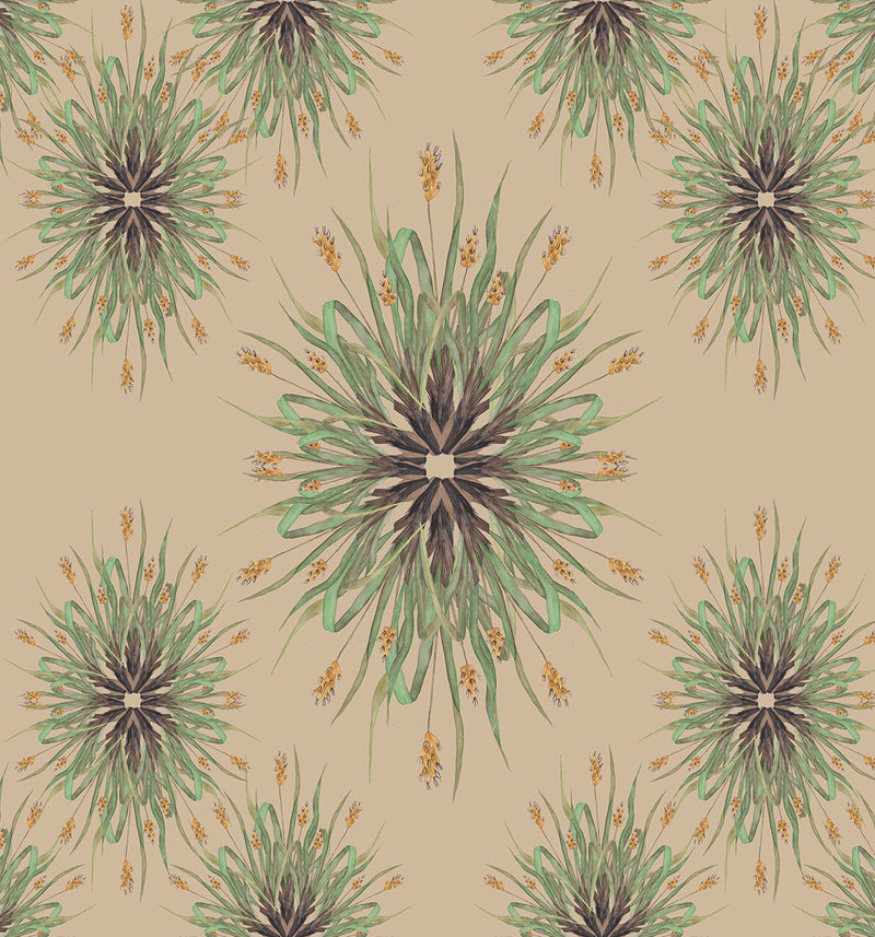 Yellow Grains Wallpaper by Fannina Bautista