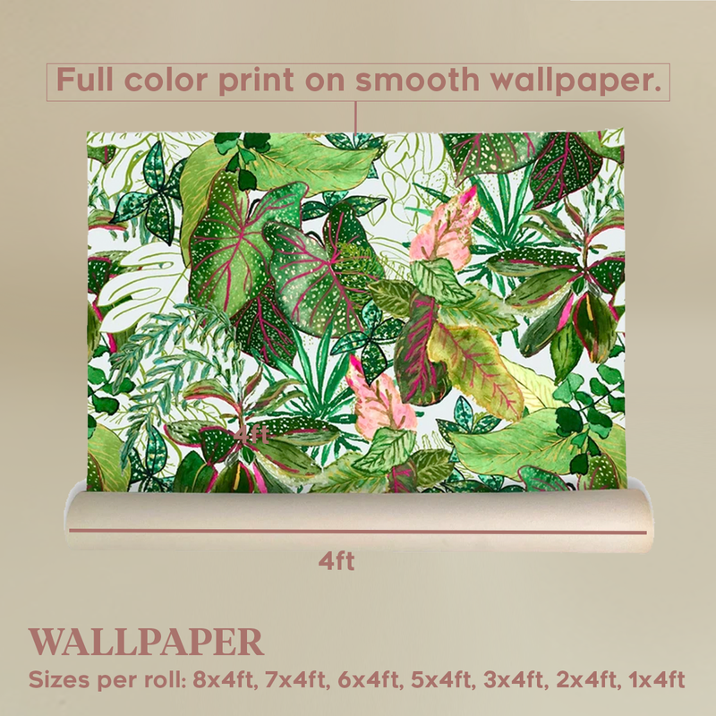 Leafy Jungle Wallpaper by Life After Breakfast