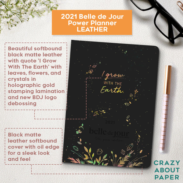 2021 Belle de Jour Power Planner - Leather