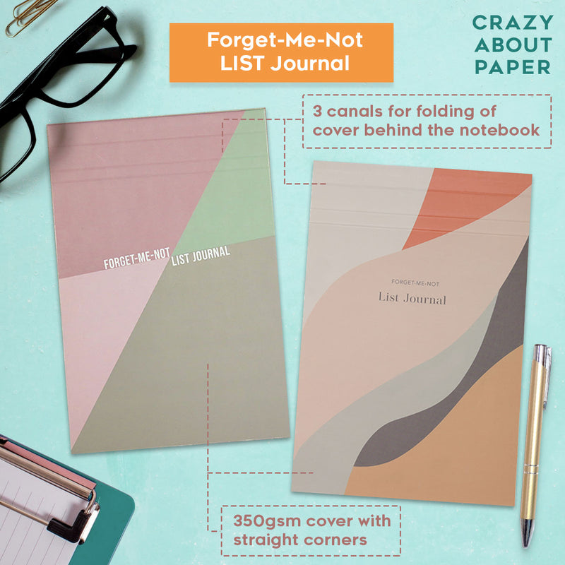 Forget me not notebook List