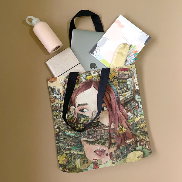 Daily Cravings Tote Bag by Sharayah Ramos