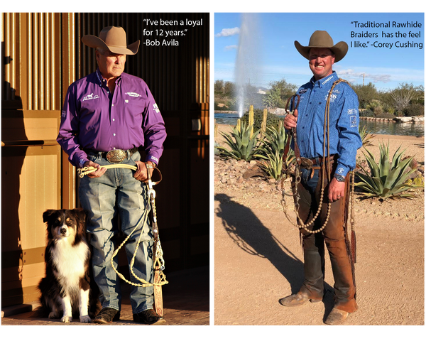 Traditional Rawhide Braiders Endorsed by Bob Avila and Corey Cushing