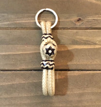 Load image into Gallery viewer, Braided Rawhide Connector Style Keychains - Assortment of Colors