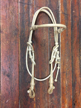 Load image into Gallery viewer, California Style Browband Headstall with Throat Latch 34 Plait