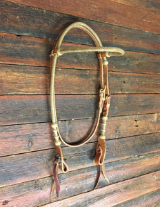 Del Rio Browband Headstall with Throat Latch