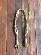 Load image into Gallery viewer, Rawhide Double Ear 34 Plait Headstall