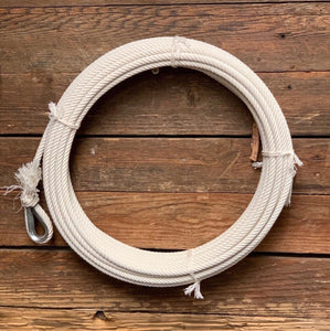 Ranch Rope 60 ft Hard Cotton