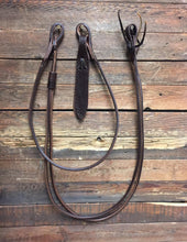 Load image into Gallery viewer, Harness Leather Romal Reins 110""
