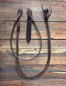 Harness Leather Romal Reins 110""