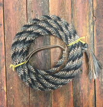 "Load image into Gallery viewer, Mane Hair Mecate 5/8"", 1/2"" 6. Strand , 22 ft  105-Dg SALE!"