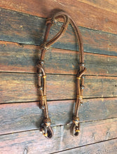 Load image into Gallery viewer, Rawhide Mexican Single Ear Headstall 12 plait -