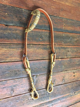 Load image into Gallery viewer, Old Fortworthian Hitched - Braided Single or Double Ear Headstall