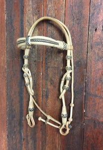 Rawhide Deluxe Triple Browband Headstall with Throat Latch