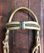 Load image into Gallery viewer, Rawhide Deluxe Triple Browband Headstall with Throat Latch