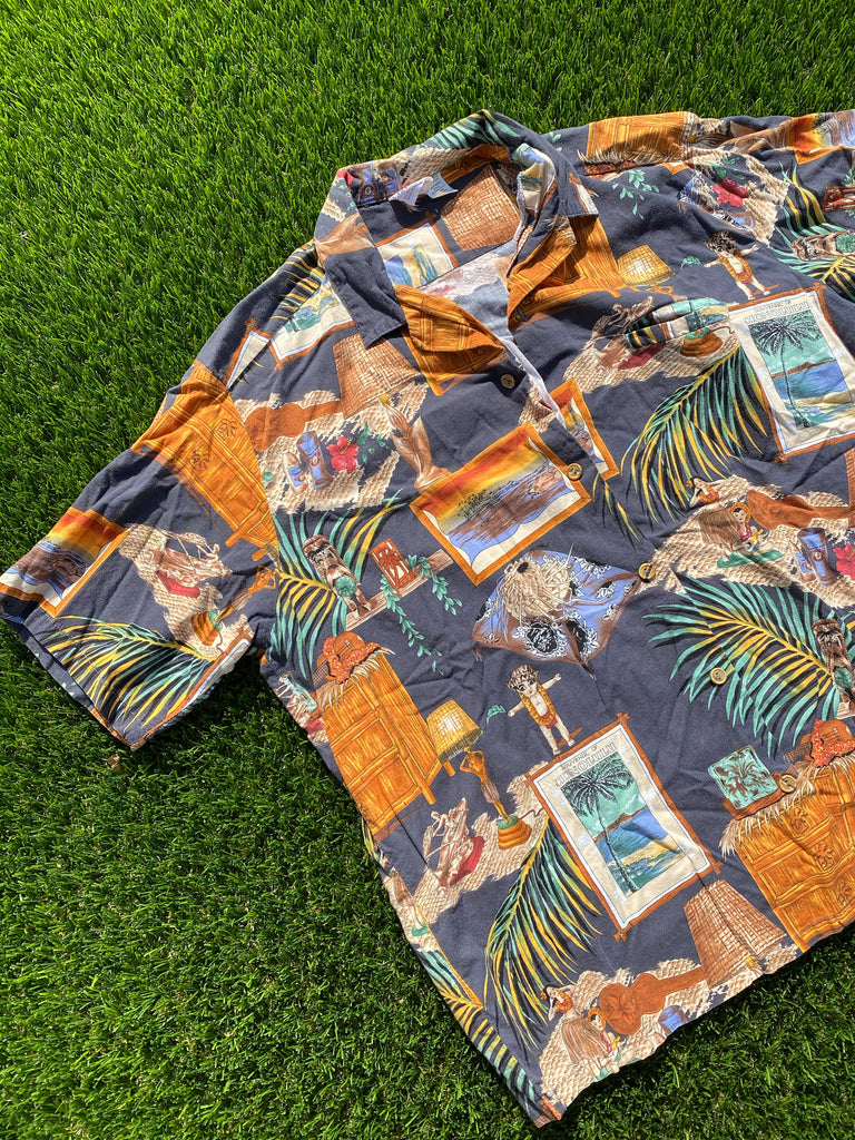 HONOLULU HAWAIIAN SHIRT
