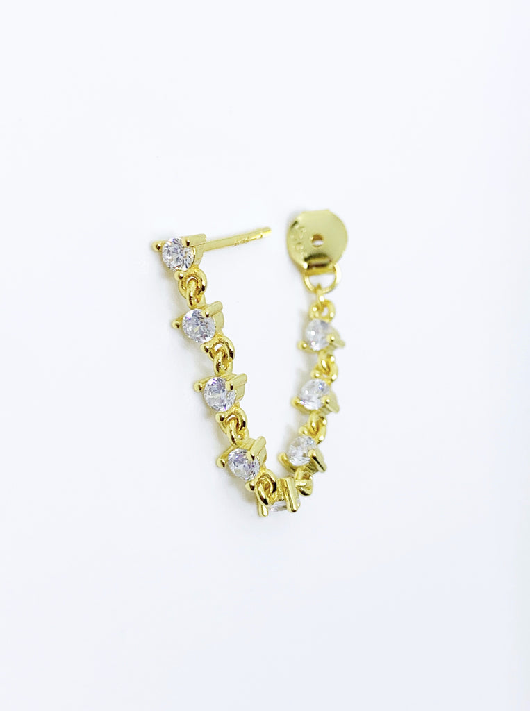 LOOP CHAIN EARRINGS