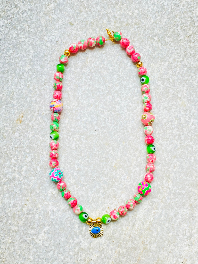 PINK PROTECTION NECKLACE