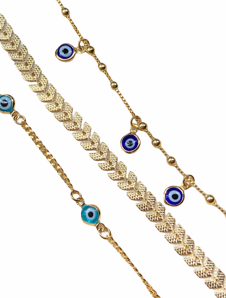 GOLDEN ARROW ANKLET