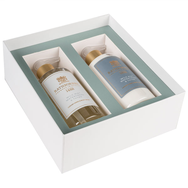 Wild Mint Wash & Lotion Gift Set