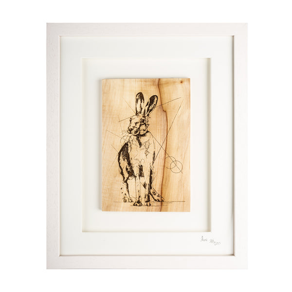 Framed Hare - Large