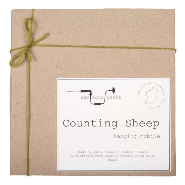 Counting Sheep - Baby Mobile