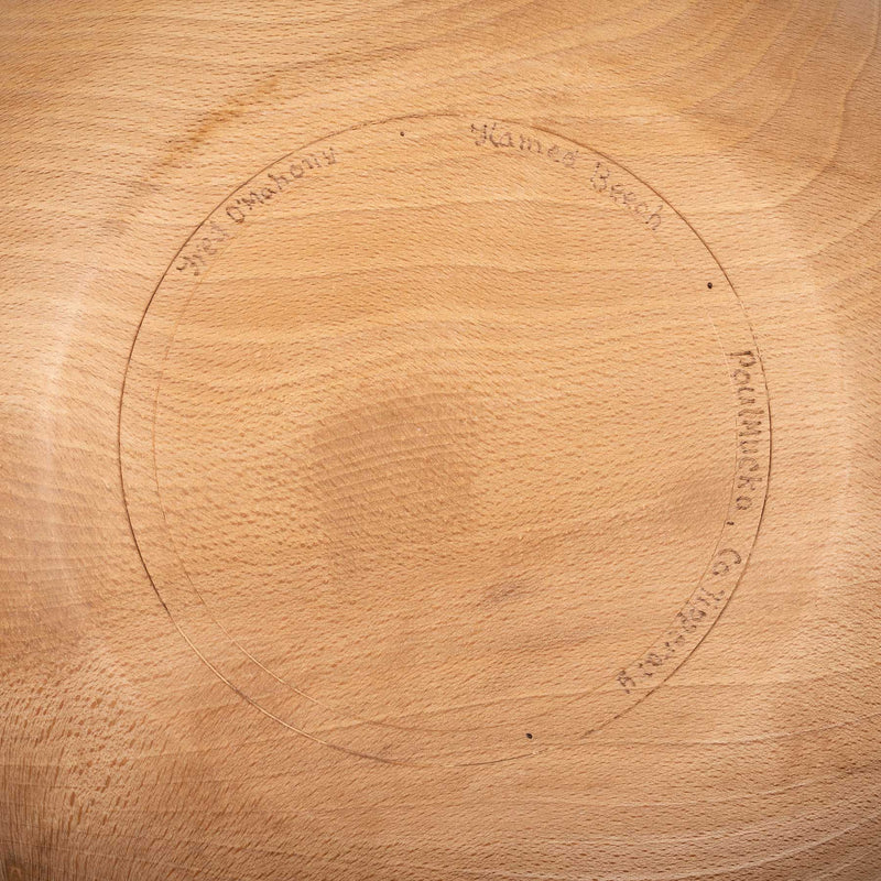 "13"" Bowl - Flamed Beech"