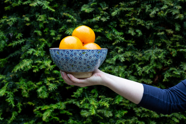 Vegetable Bowl - Lawn Light Blue