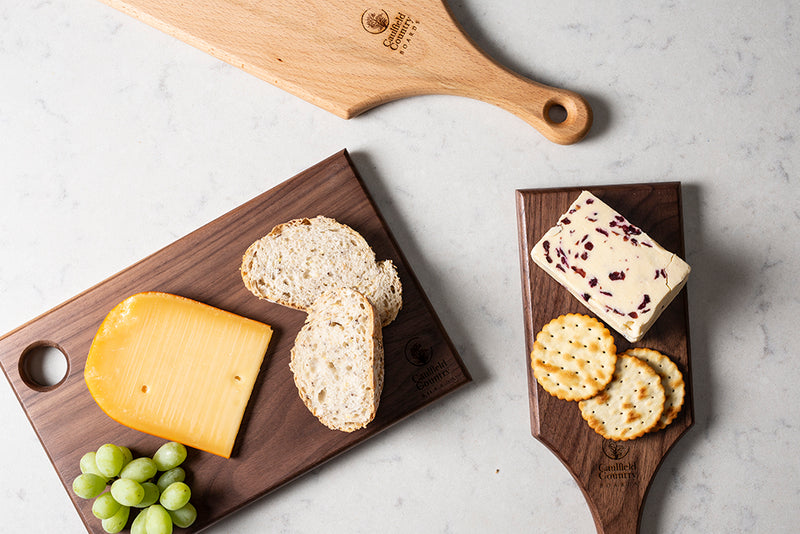 Cheese Paddle Walnut Small