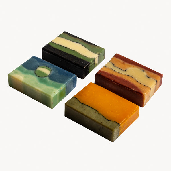 LUXURY GIFT BOX BEAUTY BARS - 4 soaps